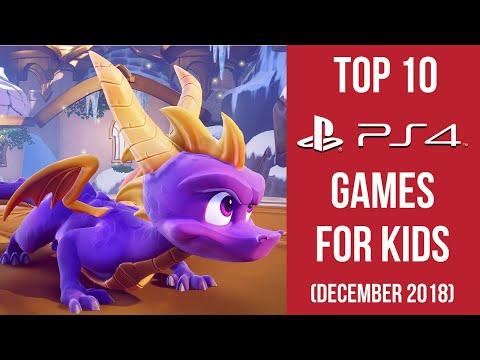 Top 10 Playstation 4 Games For Kids (December 2018)