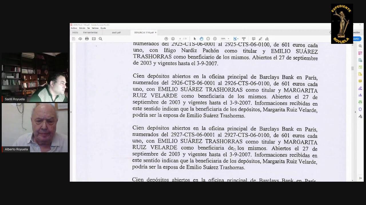 La denuncia de Alberto Royuela sobre la financiación del 11- M
