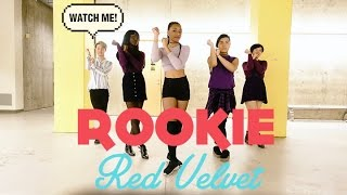 Underground Pulse Red Velvet 레드벨벳 Rookie Dance Cover