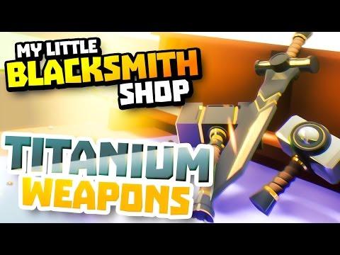 RARE TITANIUM - My Little Blacksmith Shop Game - Blacksmith Shop Money