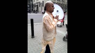 Hare Krishna Harinam outside of Cornwall Centre in Regina, Saskatchewan, Canada (Part 2)