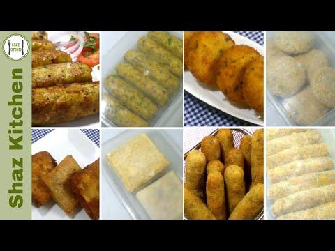 4 Make And Freeze Chicken Snacks Recipes Iftar Recipes Ramzan