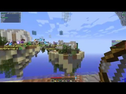 Hacking On Cubecraft Skywars 1.9 #7 | Flying Boat | Protocol