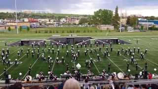 The Calgary Stampede Showband - Bishop Grandin Invitational 2014