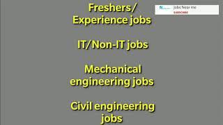 #jobsnearme #freshersjob #mechanicaljobs Graduate Engineer - Product Design (Electrical/Mechanical)