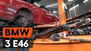 Hvordan bytte bak støtdemper der på BMW 3 (E46) [AUTODOC-VIDEOLEKSJONER]
