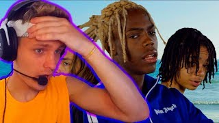 ПЕРЕВОД И РЕАКЦИЯ Yung Bans - Ridin ft. YBN Nahmir & Landon Cube (Dir. by @_ColeBennett_)