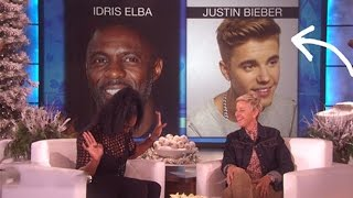 Serena Williams Admits Her Crush on Justin Bieber On Ellen Show