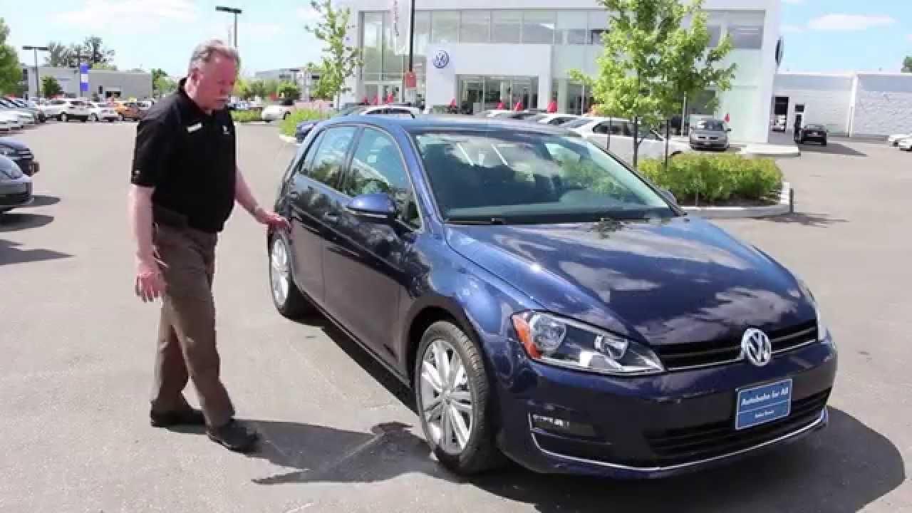 401 Dixie Volkswagen >> 2015 VW Golf Highline Review - YouTube