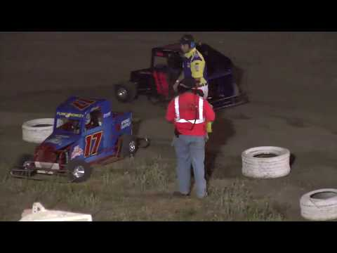 Santa Maria Speedway Simkins Memorial Jr Mini Dwarf Main 9 1 13