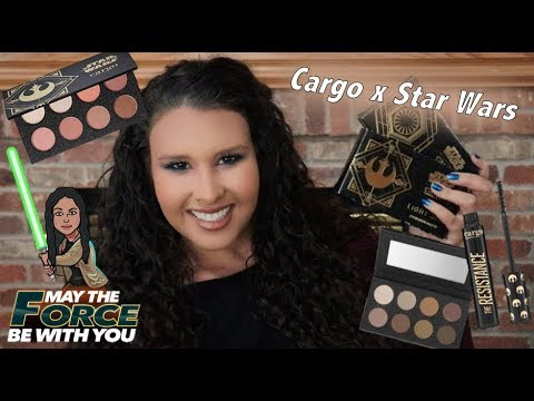Confessions Of A Makeup Hoarder Feat Cargo X Star Wars Collection