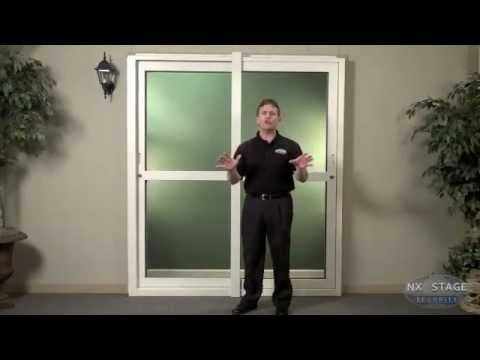 The SliderBack by Nx Stage Security, Patio Security Door