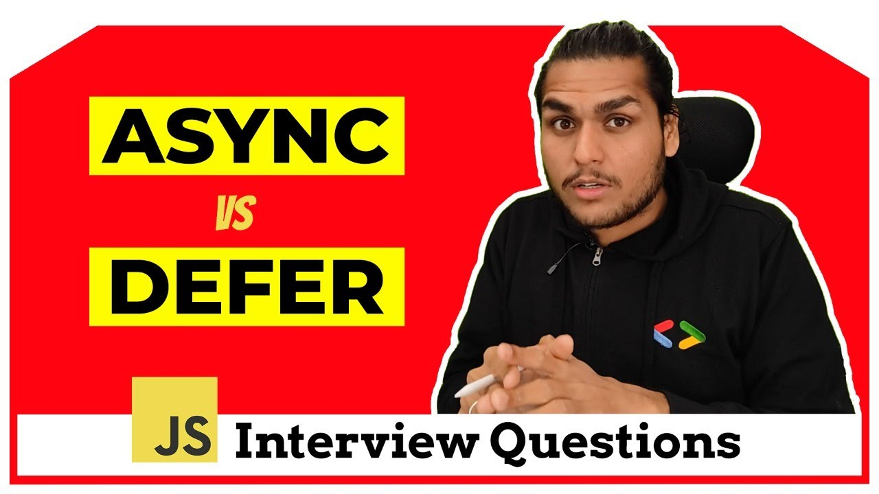 Download async vs defer attributes in Javascript | Ola Interview Question