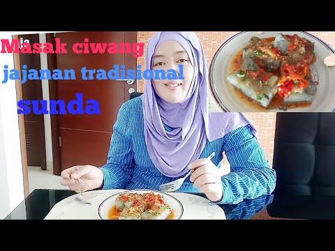 Resep Ciwang Jajanan Tradisional Sunda Youtube