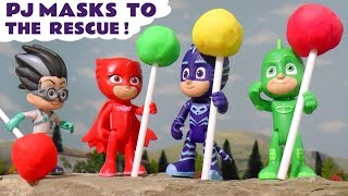 PJ Masks to the rescue - Toy stories for kids TT4U
