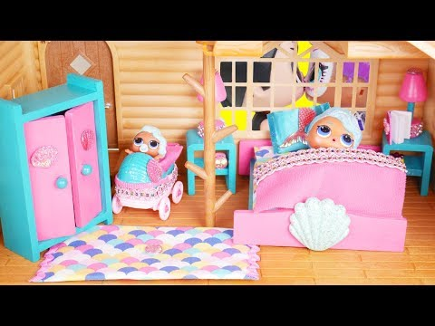 LOL Surprise New Mermaid Furniture Dolls with Barbie Doll Goldie