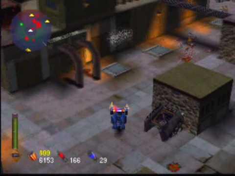 Future Cop: L A P D  Game Sample - Playstation