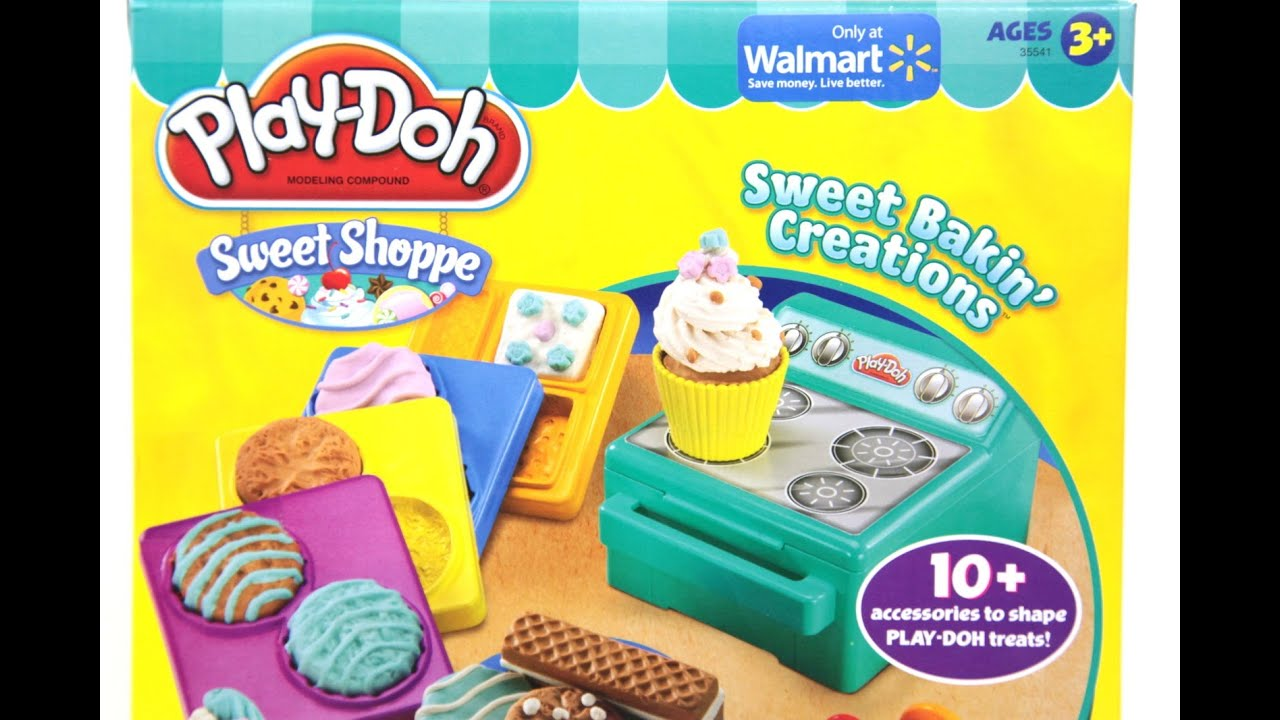 Play Doh Dough Sweet Shoppe Bakin' Creations Oven Review ...