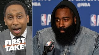 Rockets' title hopes are over if they can't beat the Warriors without KD - Stephen A. | First Take