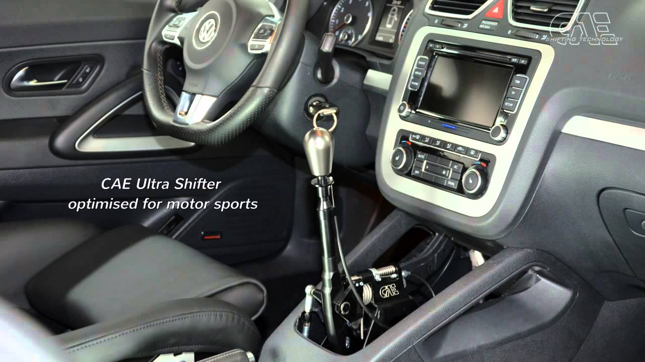 VW SCIROCCO 6-Speed MQ350 Gearbox with CAE Ultra Shifter - by CAE RACING