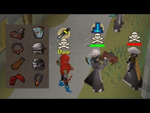 Pking Pkers when they're looting (Double Loot)