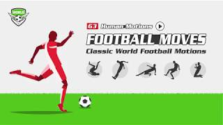 G3 Human Motions - Football Moves