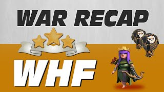 Clash of Clans War Recap #58