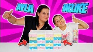 Annemle Çekmeceden Ne Çıkarsa Slime Challenge!