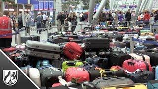 Störung am Flughafen Düsseldorf - 2500 Koffer bleiben zurück