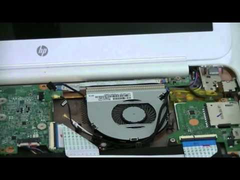 Disassembly of HP Chromebook 14