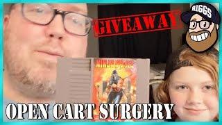 Open Cart Surgery - Ninja Gaiden for NES