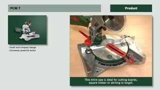 Features of: PCM 7 Mitre Saw