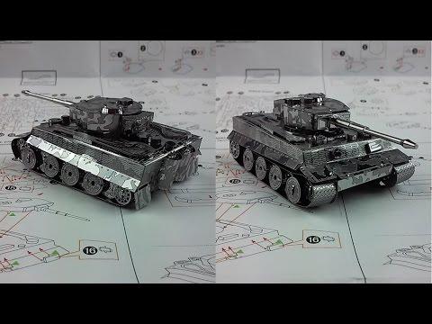 Metal Earth Build - Tiger I Tank