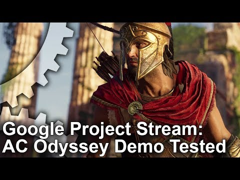 Cloud Gaming! Google Project Stream Assassin's Creed Odyssey vs PC vs Xbox One X!