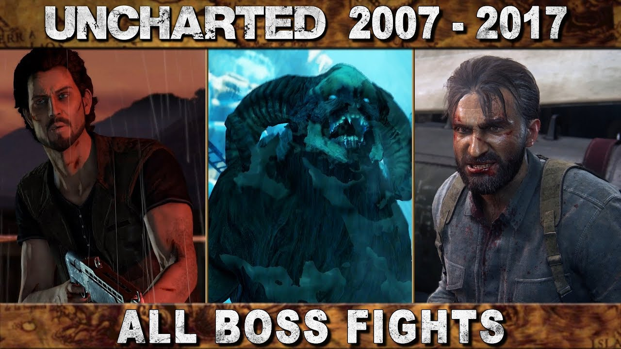 all uncharted games