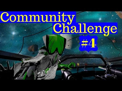 Warframe - IMPOSSIBLE CHALLENGE! Banshee Overextended ONLY, Ceres Exterminate, Braton No Mods