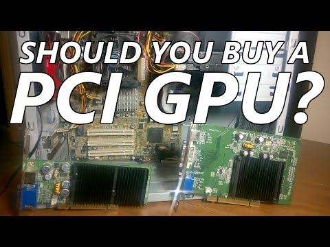 Should You Buy a PCI Graphics Card?