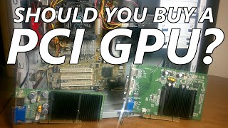 should you buy a pci graphics card