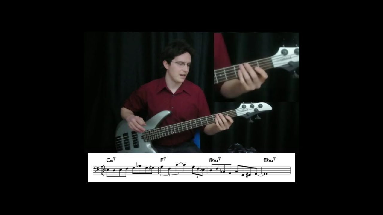 This brilliant bass lick key g the message