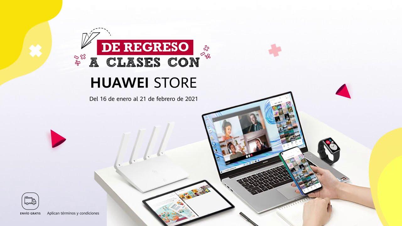¡Regresa a clases con el mejor equipo Huawei! Tenemos facilidades de pago para ti.