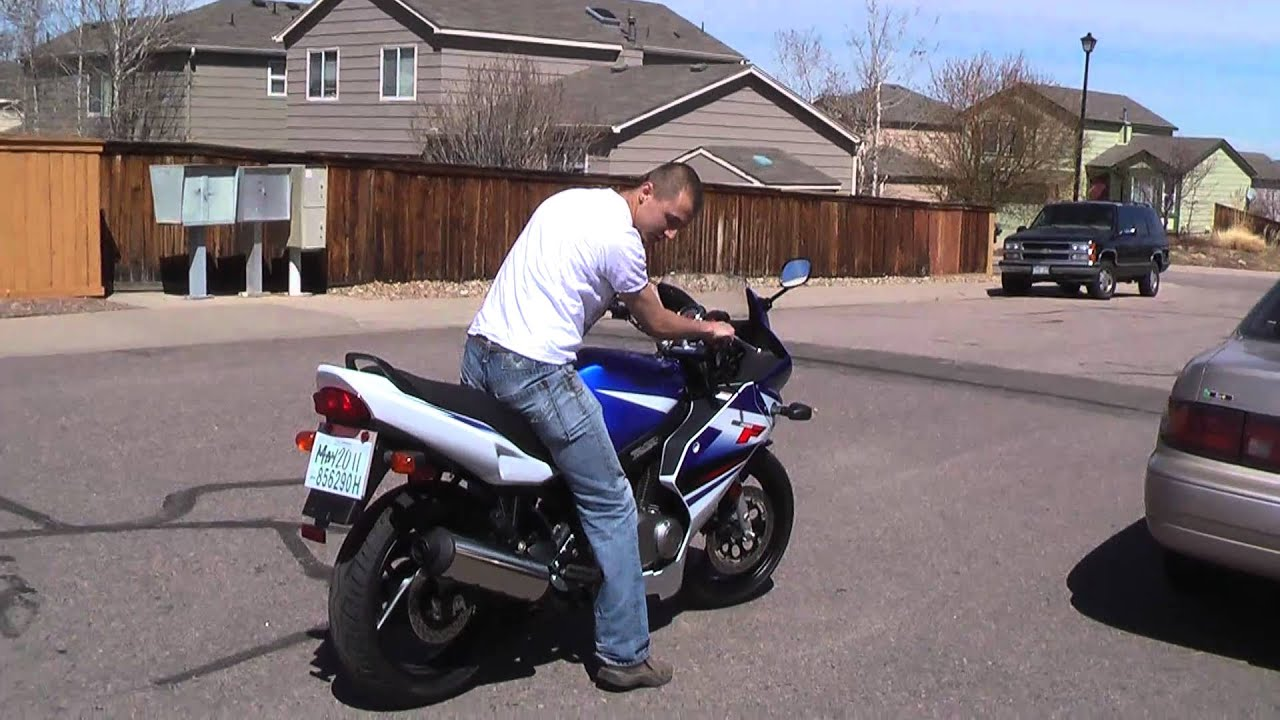 2009 suzuki GS500F - YouTube