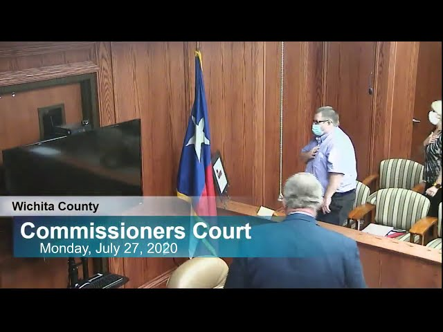 Commissioners Court 07/27/2020