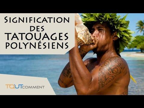 Signification Des Tatouages Maori Et Polynesiens Youtube