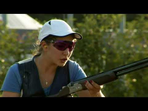 2019 European Championship Shotgun, Lonato Del Garda, Italy - Skeet Women Junior Final