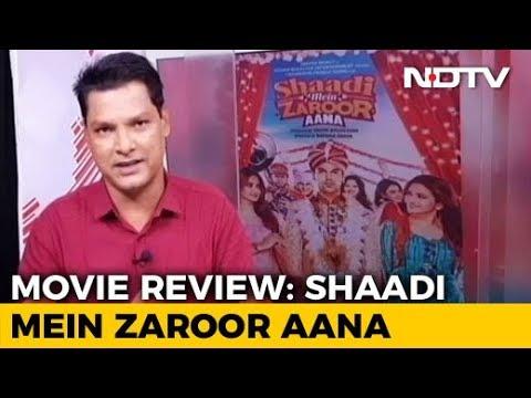 Film Review: Shaadi Mein Zaroor Aana