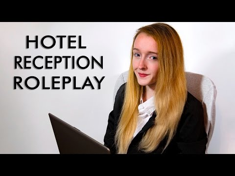 ASMR Luxury Hotel & Spa Check-In Role Play - Typing, Soft Spoken 4K