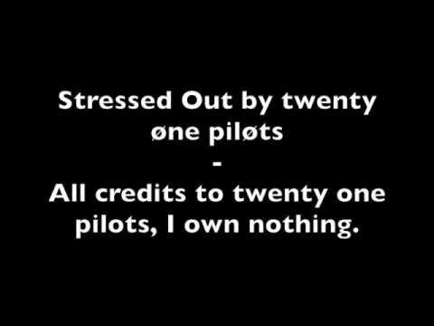 Twenty one pilots-stressed out testo piú canzone