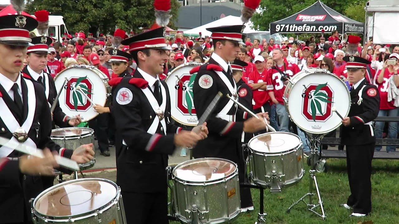OSU Marching Band Drum Line Mash Up DRUMLINETBDBITLOHIOSTATEMARCHINGBANDOHIOSTATE