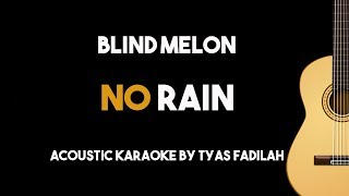 No Rain - Blind Melon (Acoustic Guitar Karaoke Version)
