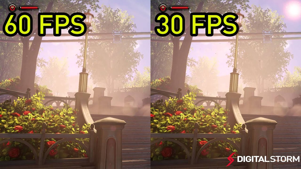 60 FPS vs 30 FPS Gaming Smoothness Comparison - YouTube